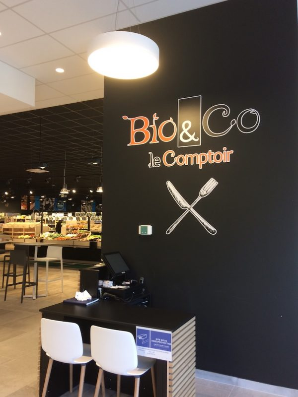 Bio Restaurant in South of France